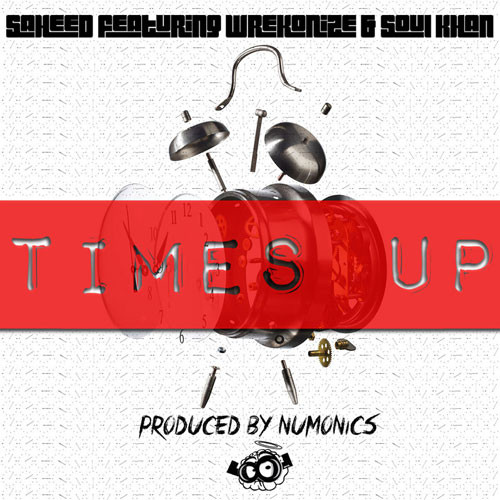 Times Up Cover