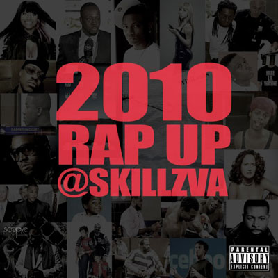 2010 Rap Up Cover