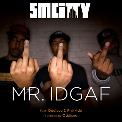 Mr. IDGAF Cover