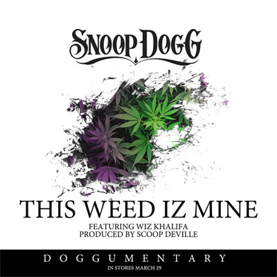 The Weed Iz Mine Cover
