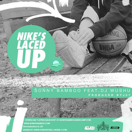 Nikes Laced Up Cover