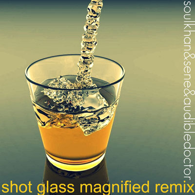 Shot Glass Magnified (Audible Doctor Remix) Promo Photo