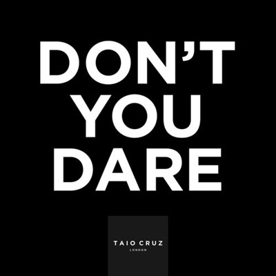 Don't You Dare Cover