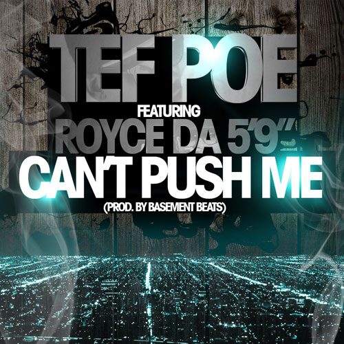 Can't Push Me Cover