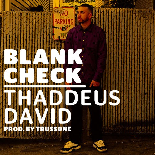 Blank Check Cover