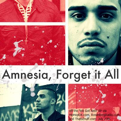 Amnesia, Forget It All Promo Photo