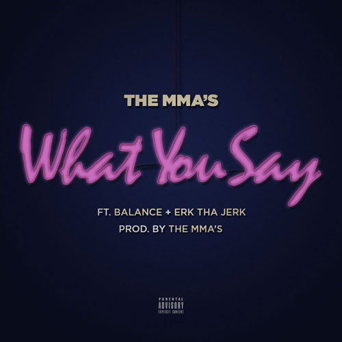 What You Say Cover