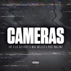 1st (of FKi), Lil Uzi Vert, Mac Miller & Post Malone - Cameras Artwork