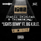 1982 ft. Big K.R.I.T. - Lights Down Artwork