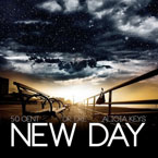 50 Cent ft. Dr. Dre & Alicia Keys - New Day Artwork
