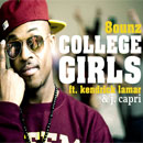 8ounz ft. Kendrick Lamar &amp; J. Capri - College Girls (Remix) Artwork
