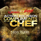 Action Bronson ft. Lauriana Mae - Compliments 2 The Chef Artwork