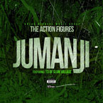 Action Figures ft. T3 (of Slum Village) - Jumanji Artwork