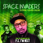 MC ADaD ft. Naledge &amp; Fashawn - Space Invaders Artwork