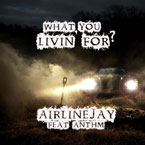 AirlineJay ft. ANTHM - What You Livin&#8217; For? Artwork