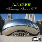 A.J. Crew - Never Wanna End Artwork