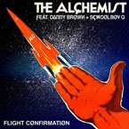The Alchemist ft. Danny Brown &amp; Schoolboy Q - Flight Confirmation Artwork