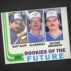 The Alchemist ft. Action Bronson & RiFF RAFF - Rookies of the Future Artwork