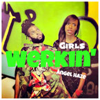 Angel Haze - Werkin' Girls Artwork