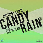 Anthony Lewis ft. Sage the Gemini - Candy Rain Artwork
