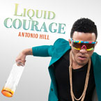 Antonio Hill - Liquid Courage Artwork