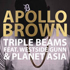 Apollo Brown - Triple Beams ft. Westside Gunn & Planet Asia Artwork