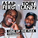 A$AP Ferg x Tory Lanez - Line Up The Flex Artwork