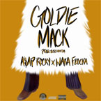 A$AP Rocky x Waka Flocka Flame - Goldie Mack Artwork