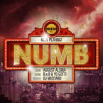 August Alsina ft. B.o.B & Yo Gotti - Numb Artwork