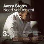 Avery Storm - Need You Tonight Artwork
