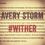 Avery Storm - WitHer Artwork