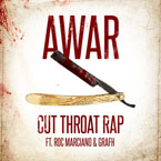 AWAR ft. Roc Marciano & Grafh - Cutthroat Rap Artwork