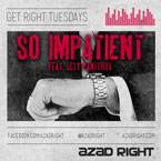Azad Right ft. Lexy Panterra - So Impatient Artwork