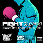 Bad Nuze ft. Rapper Big Pooh & CyHi The Prynce - Fight (Remix) Artwork