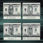 Bangladesh ft. Pusha T, Jadakiss & 2 Chainz - 100 Artwork