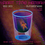 Big Boi ft. Kid Cudi & Stevie Wonder - Part Time Hater Artwork