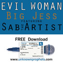 Big Jess ft. Sab The Artist - Evil Woman Artwork