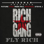 Birdman Presents Rich Gang ft. Stevie J., Future, Tyga, Meek Mill & Mystikal - Fly Rich Artwork