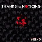 Black EL x Durkin - Thanks For Noticing Artwork