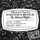 Blood Type ft. Emilio Rojas - Writer's Block Artwork