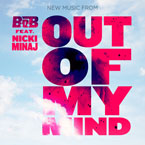 B.o.B ft. Nicki Minaj - Out Of My Mind Artwork
