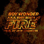 Boy Wonder - Fire Artwork