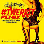 Busta Rhymes ft. Vybz Kartel, Ne-Yo, T.I., Jeremih & French Montana - Twerk It (Remix) Artwork