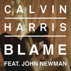 Calvin Harris ft. John Newman - Blame Artwork