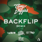 Casey Veggies - Backflip (Remix) ft. IamSu!, Wiz Khalifa & A$AP Ferg Artwork