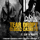 Ca$his ft. Slim The Mobster - Tear Dropz &amp; Closed Caskets Artwork