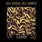 All Gold, All Girls (Remix) Artwork