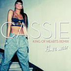 Cassie - King of Hearts (Kanye West Remix) Artwork