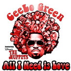 Cee-Lo Green ft. Disney's The Muppets - All I Need is Love Artwork