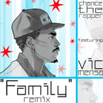 Chance The Rapper ft. Vic Mensa - Family (Blended Babies Remix) Artwork